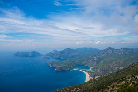 Turkey Fethiye Dead Sea scenery Stock Photo