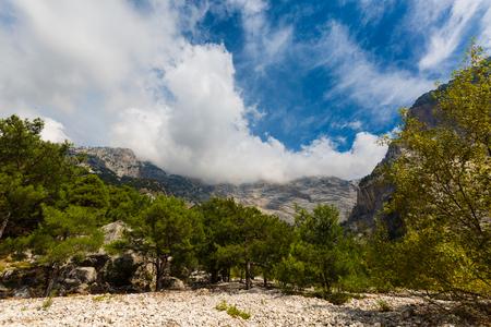 Nature scenery of Fethiye Lycian, Turkey
