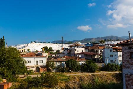 The scenery of Pamukkale of Turkey Boris Sheila site Editorial