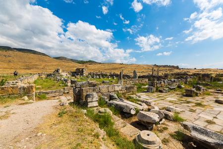 The scenery of Pamukkale of Turkey Boris Sheila site Stock fotó