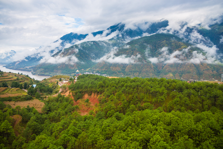 The first bay of the Yangtze River, Lijiang, Yunnan, China