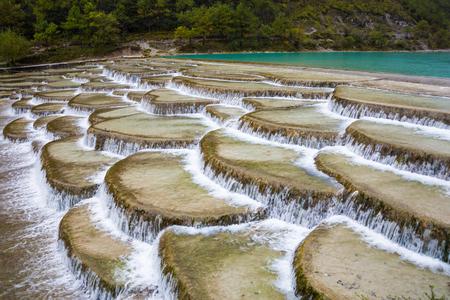 Yunnan China Blue Valley scenery 写真素材