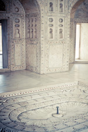 India Agra Agra Fort private Hall Editorial