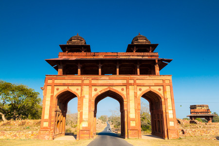 India city of Agra, fatehpur Sikri city gate