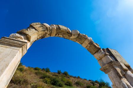 The ancient ruins of Ephesus in Turkey