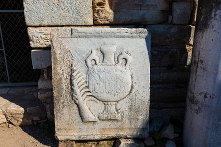 The stigma of the ancient ruins in Turkey Banco de Imagens