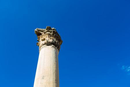 The ancient ruins of Ephesus in Turkey Banco de Imagens - 98827172