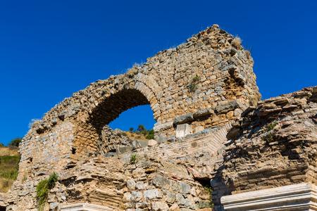 Ruins of the Turkey Ephesus site