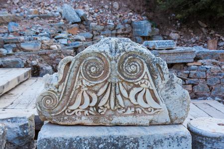 Stigma stone at the site of the Buddha in Turkey