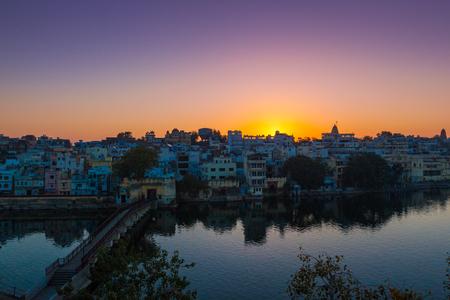 India Udaipur City Scenery