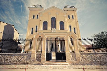 Turkey Edirne Synagogue Foto de archivo - 104156482