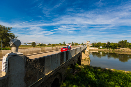 Edirne Merich River Bridge in Turkey 報道画像