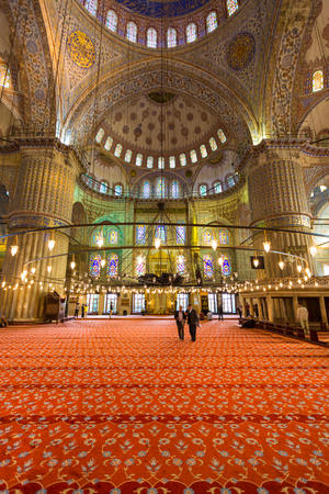Istanbul Blue Mosque, Turkey