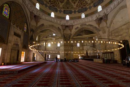 Three Balcony Mosque in Edirne, Turkey