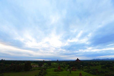 Early morning in Bagan, Myanmar