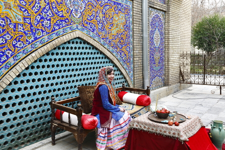 Royal Palace of Tehran, Sri Lanka Editorial