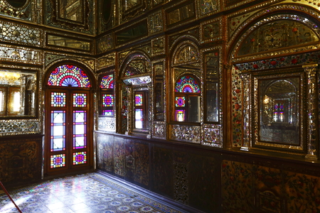 The Temple of the Mirror of the Royal Palace of Tehran, Iran Editorial