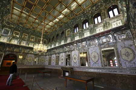 el Palacio Real de Teherán, Irán