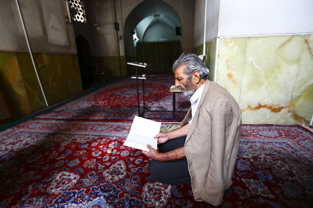 Iranian Yazd devout believer Editorial