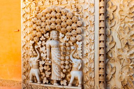 Indian Bikaner Rat Temple Banco de Imagens