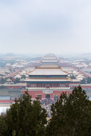 The Imperial Palace in Beijing, China