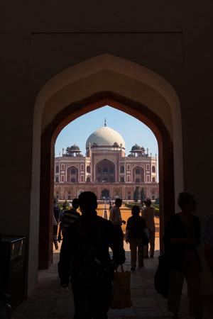 Tomb of Akbar, Delhi, India Editorial