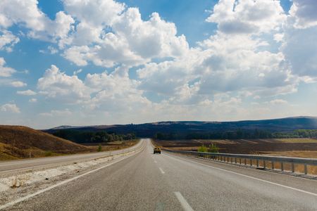 Turkish country highway