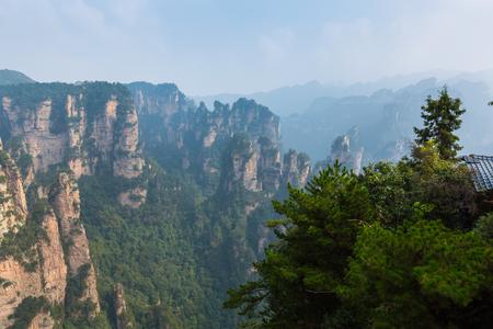 Zhangjiajie scenery in Hunan, China