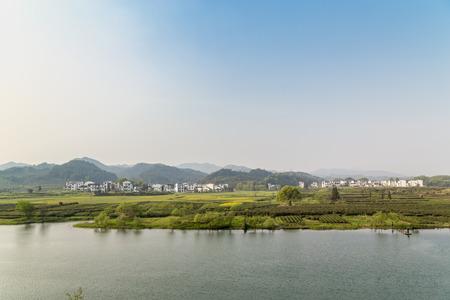 Jiangxi Wuyuan Tea Garden scenery