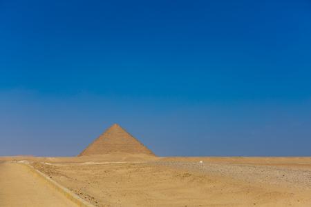 Red pyramid of Dehusul, Egypt