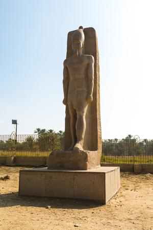 Statue of Memphis, Cairo, Egypt
