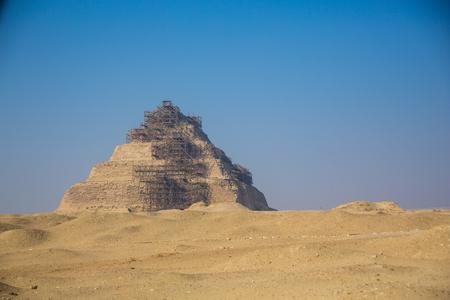 Egypt Giza Step Pyramid