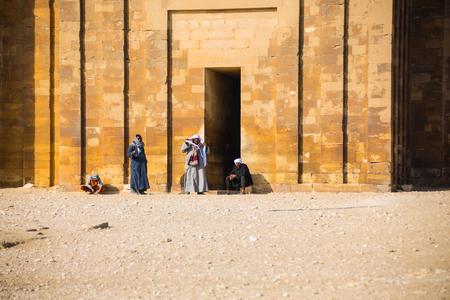 Egypt Giza Step Pyramid Temple