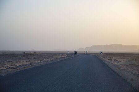 Egypt Baihaliya Oasis Desert Highway