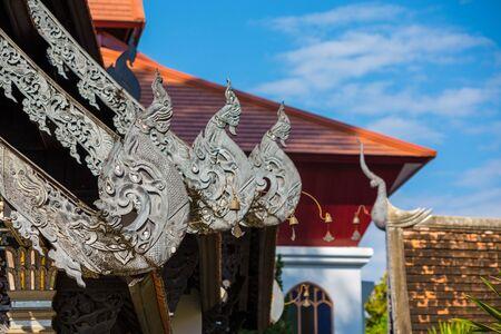 Chedi Dragon Temple, Chiang Mai, Thailand