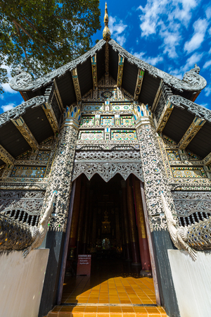 Black Temple in Chiang Rai, Chiang Mai, Thailand