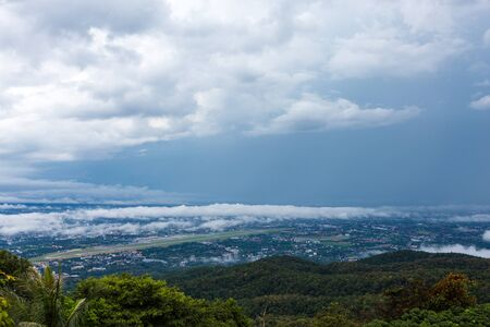 Shuanglongshan cloud sea, Chiang Mai, Thailand