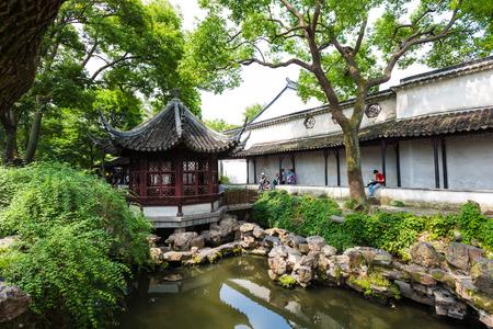 Scenery of Humble Administrator's Garden in Suzhou City, Jiangsu Province, China.