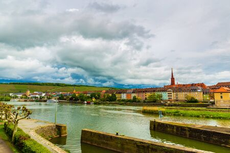 Mainz scenery in Wurzburg, Germany