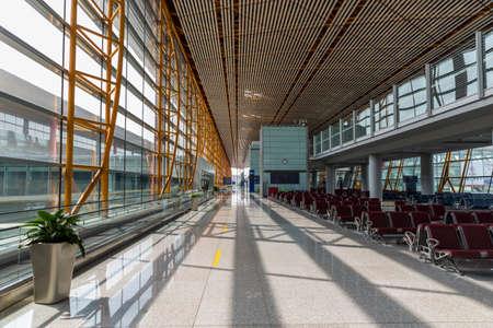 Capital Airport Terminal during the epidemic
