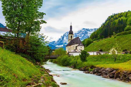 Ramsau Church in Berchtesgaden, Germany