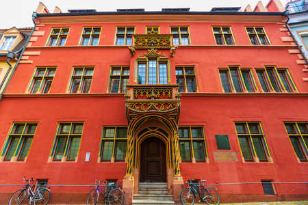 Historic buildings in Freiburg, Germany