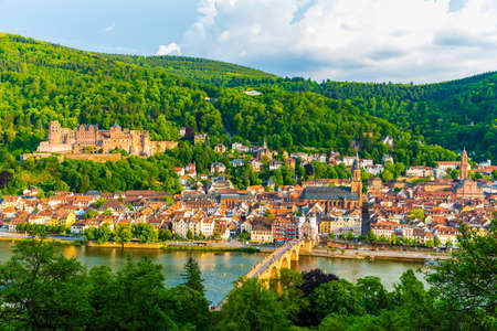 Scenery of Heidelberg, Germany