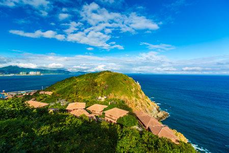 Scenery of Boundary Island Island in Lingshui County, Hainan Province