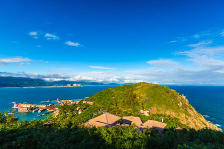 Scenery of Boundary Island in Lingshui County, Hainan Province