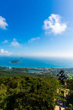 Scenery of Yalong Bay, Sanya, Hainan, China