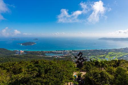 Scenery of Yalong Bay, Sanya, Hainan, China