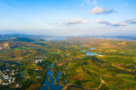 Rural scenery in Ledong County, Hainan, China