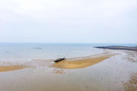 Coastal scenery of Lingao County, Hainan Province, Asia, China