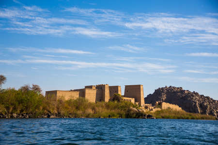 Temple of Philae, Egypt, Africa